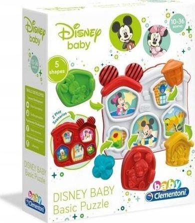 Clementoni Domek kształtów Disney  1