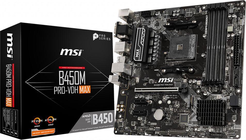 Płyta główna MSI B450M PRO-VDH MAX 1