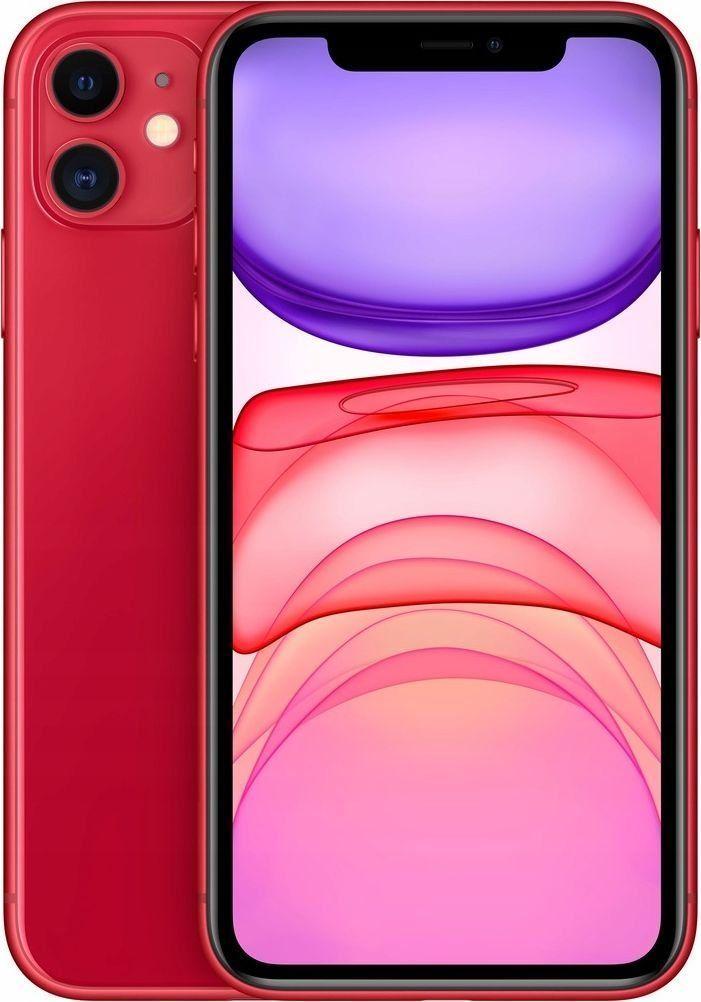 Smartfon Apple iPhone 11 64 GB Dual SIM Czerwony (MWLV2) 1