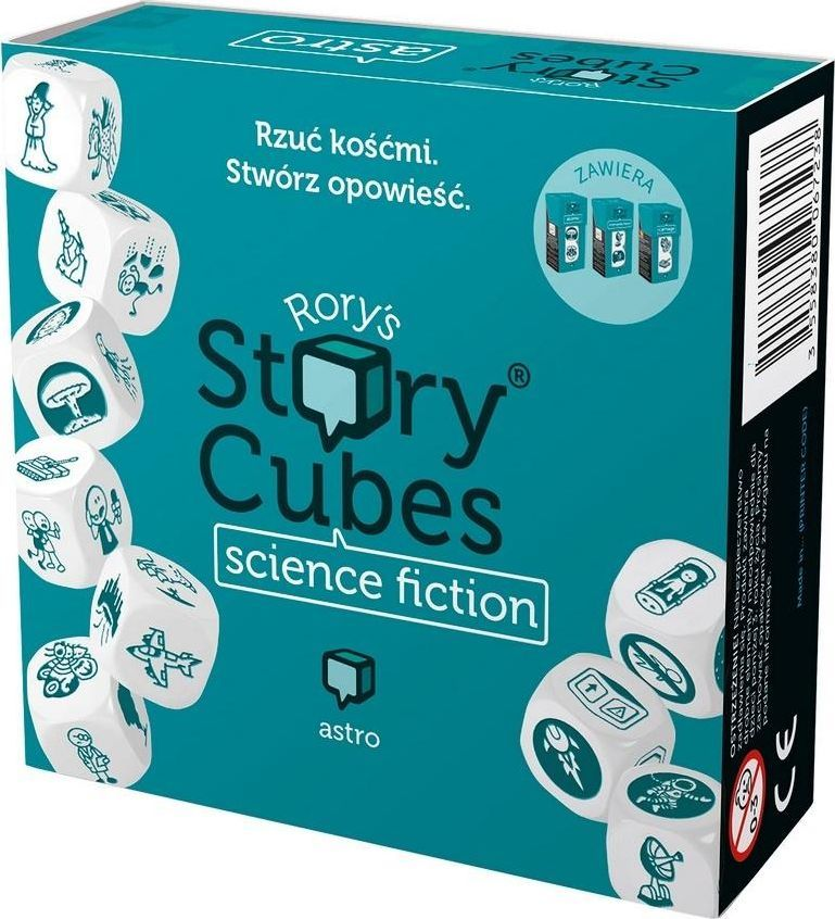 Rebel Story Cubes: Science Fiction 1