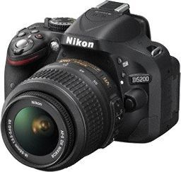 Lustrzanka Nikon D5200 KIT + 18-55 VR II (VBA350K007) 1
