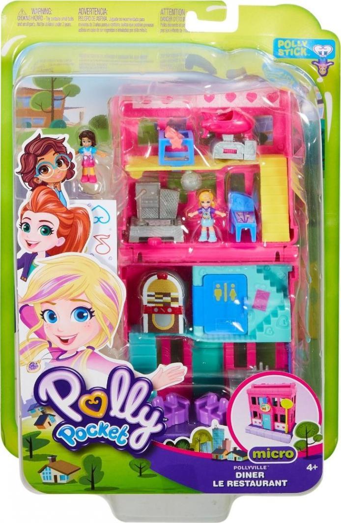 Mattel Polly Pocket Pollyville restauracja (GGC30) 1
