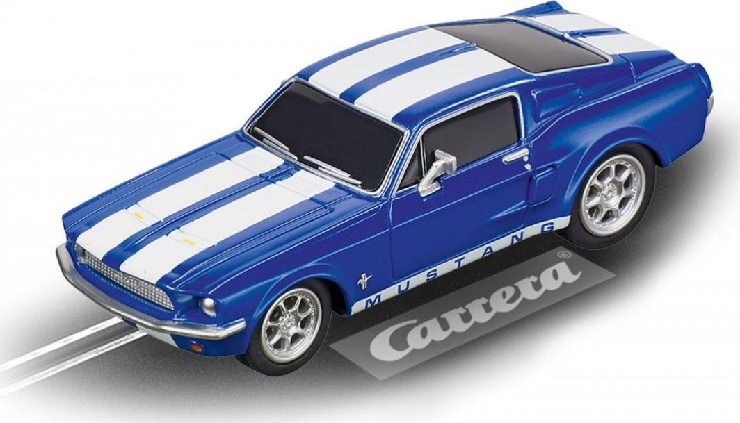 Carrera Auto Go Ford Mustang 67 Racing Blue 1