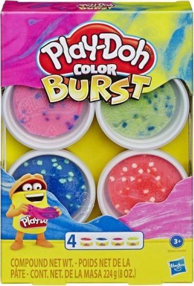 Hasbro Masa plastyczna PlayDoh Color Burst Bright Pack (E6966/E8060) 1