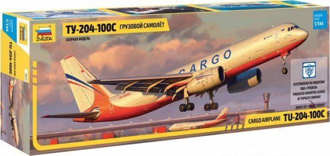 Zvezda Model plastikowy Tupolev Tu204-100 Cargo 1