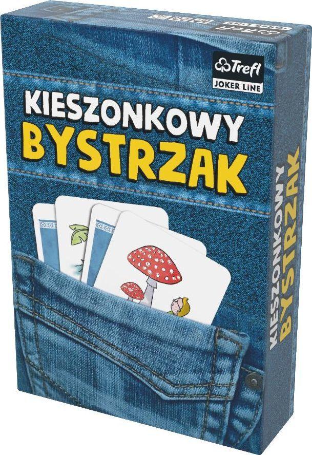 Trefl Gra Kieszonkowy Bystrzak nowe wydanie 1