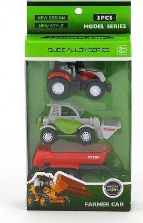 Adar Zestaw z traktorem w pudełku (469921) 1