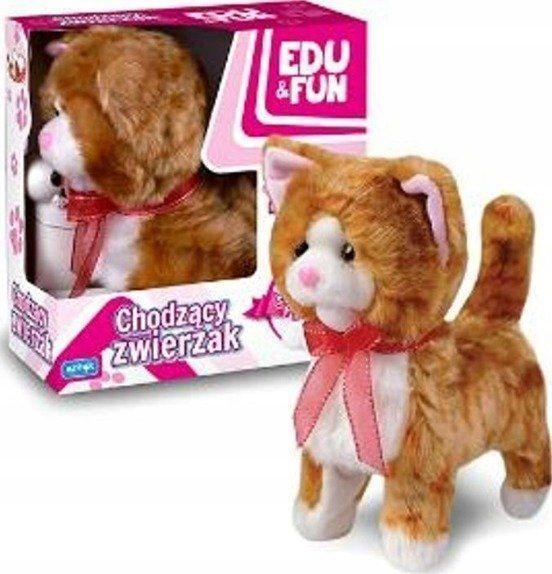 Artyk Chodzący kotek Edu&Fun Rudy 1