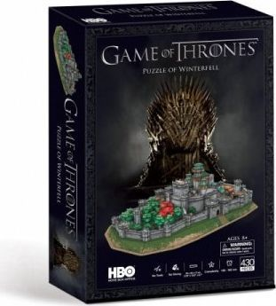 Cubicfun PUZZLE 3 D GAME OF THRONES WINTERFEll 1