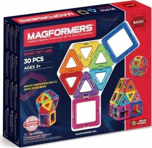 Magformers Klocki magnetyczne Basic 30 el.  1