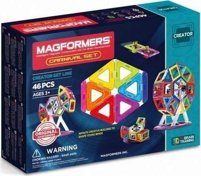 Magformers KLOCKI MAGFORMERS CARNIVAL 46 el /703001/ 1