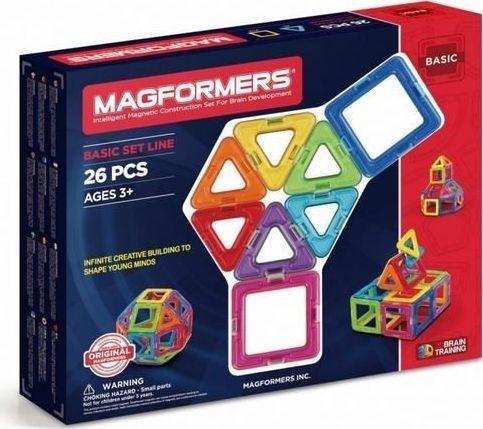 Magformers KLOCKI MAGFORMERS BASIC 26 EL / 701004/ 1