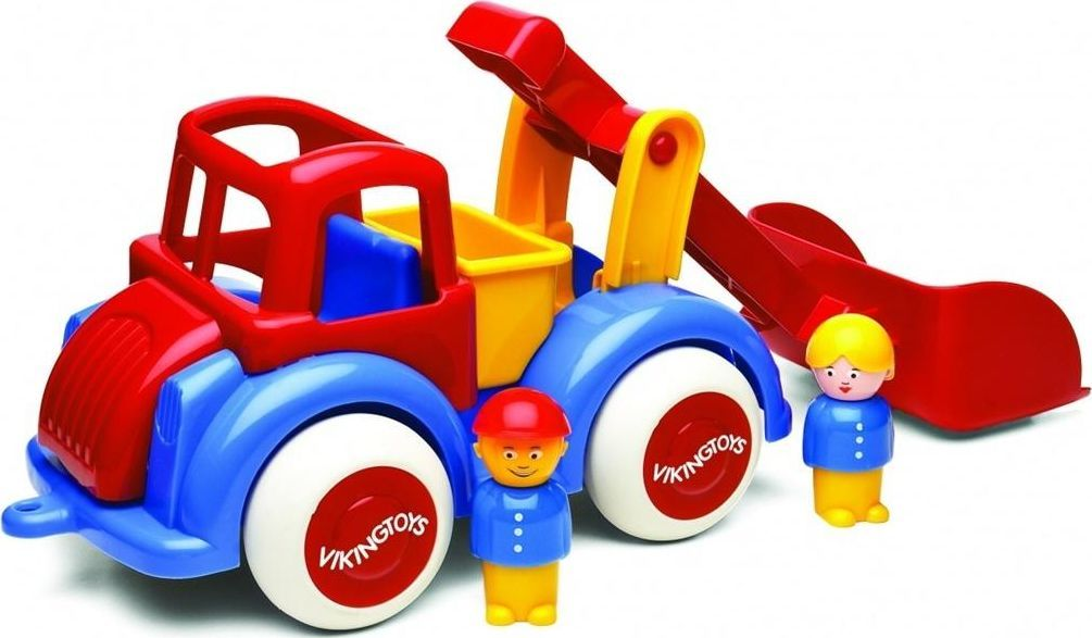 Viking Toys Pojazd Ładowarka Z Figurkami Jumbo 1