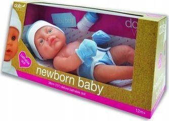 Dolls World Lalka bobas newborn baby 38cm chłopiec 1
