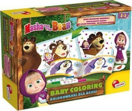Masza i Niedźwiedź. Kolorowanki dla dzieci 1 1