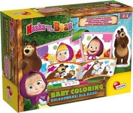 Masza i Niedźwiedź. Kolorowanki dla dzieci 2 1