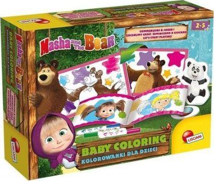 Masza i Niedźwiedź. Kolorowanki dla dzieci 3 1