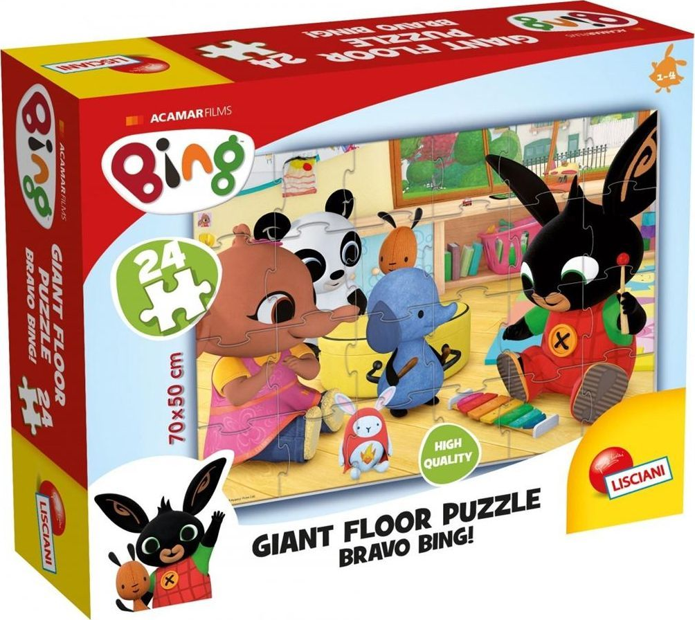 Lisciani Bing Ogromne Puzzle Podłogowe 3 1