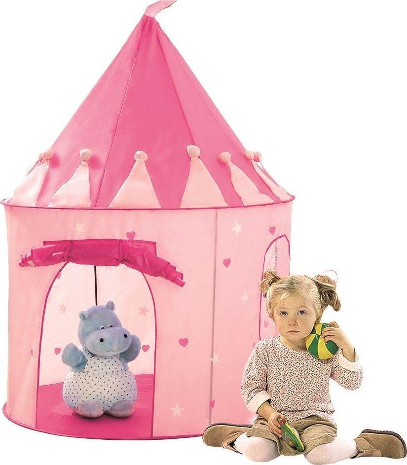 Bino Różowy namiot zamek księżniczki 1