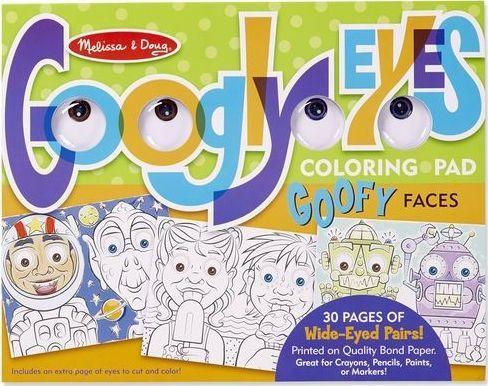 Kolorowanka z oczami ludziki 1