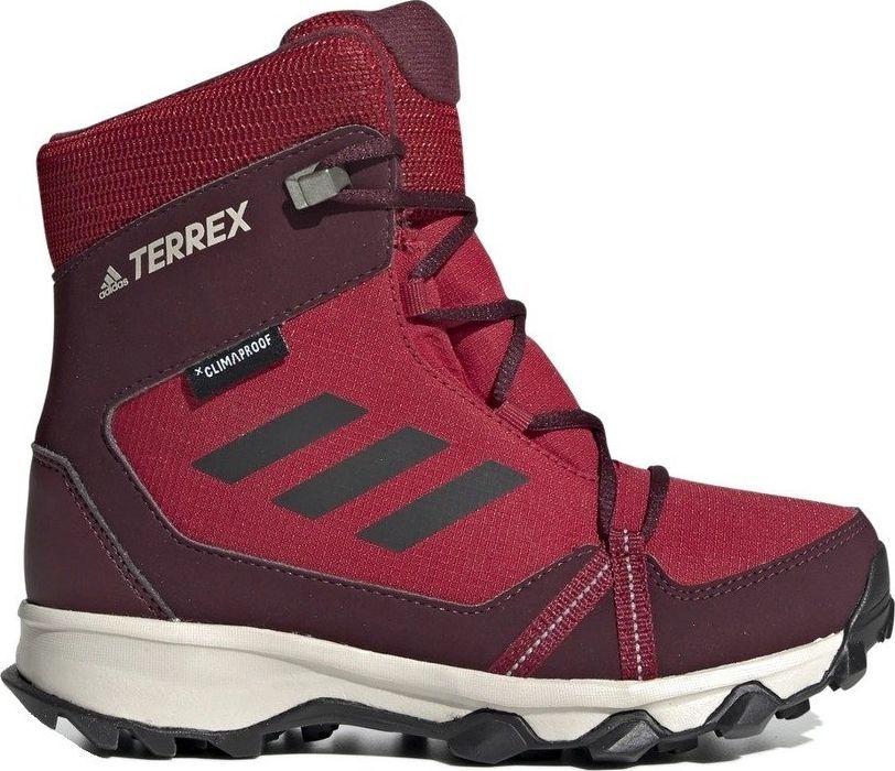 Adidas Buty damskie TERREX SNOW CP CW K Climaproof czerwone r. 37 1/3 (G26588) 1