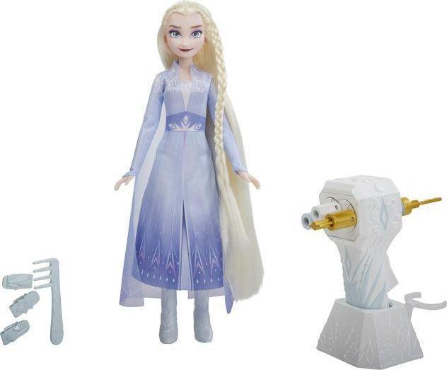 Hasbro Frozen 2 Elsa z lokówką (E6950/E7002) 1