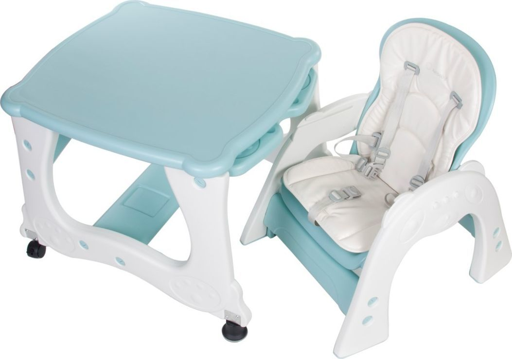 Sun Baby Krzesełko do karmienia TwoIsOne miętowa zieleń 1