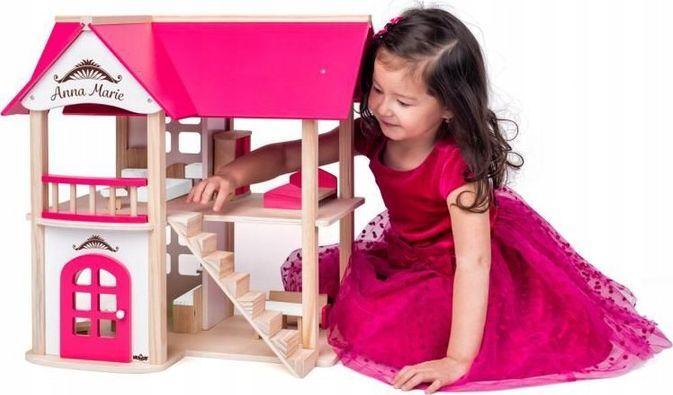 Woody Domek dla lalek Villa Anna Maria z meblami 1