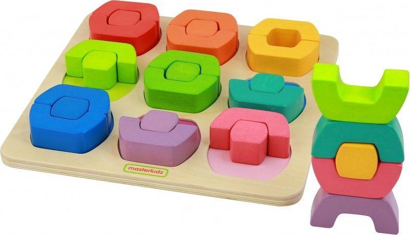 Masterkidz Kolorowe Klocki Dzielone Sorter Kształtów Kolorów Masterkidz 1