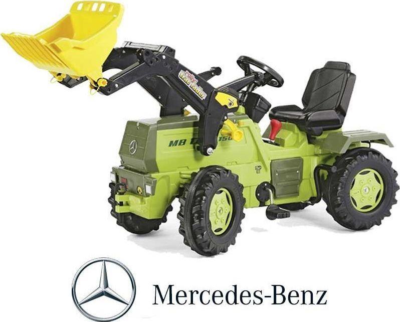 Rolly Toys Rolly Toys Traktor na Pedały z Biegami Mercedes Benz Łyżka 3-8 Lat 1