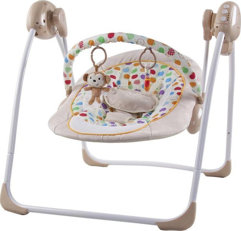 Sun Baby Leżaczek huśtawka - małpka 1