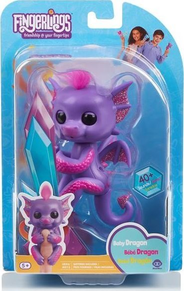WowWee Fingerlings smok Kaylin 1
