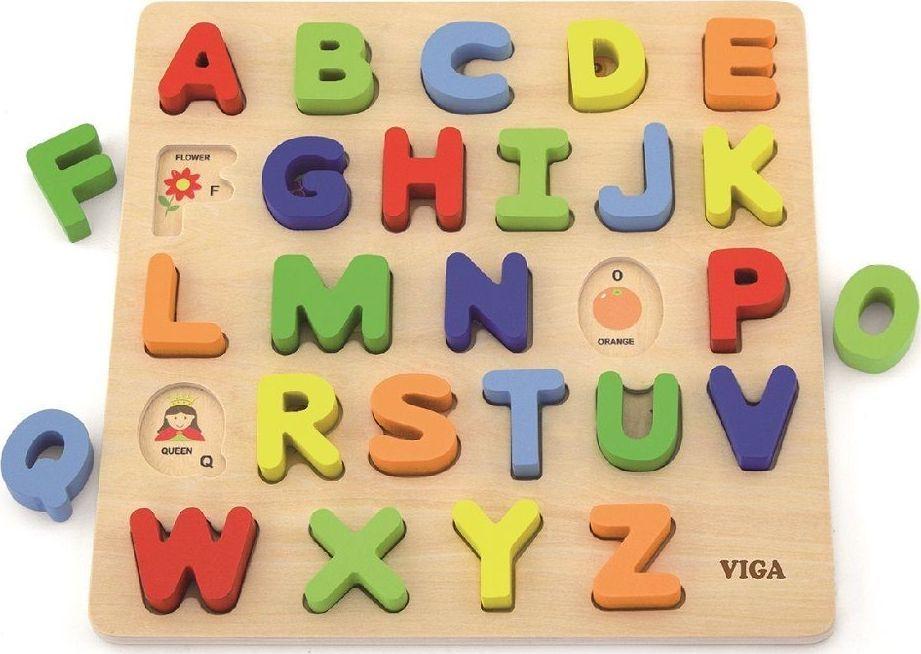 Viga Układanka 3D alfabet 1