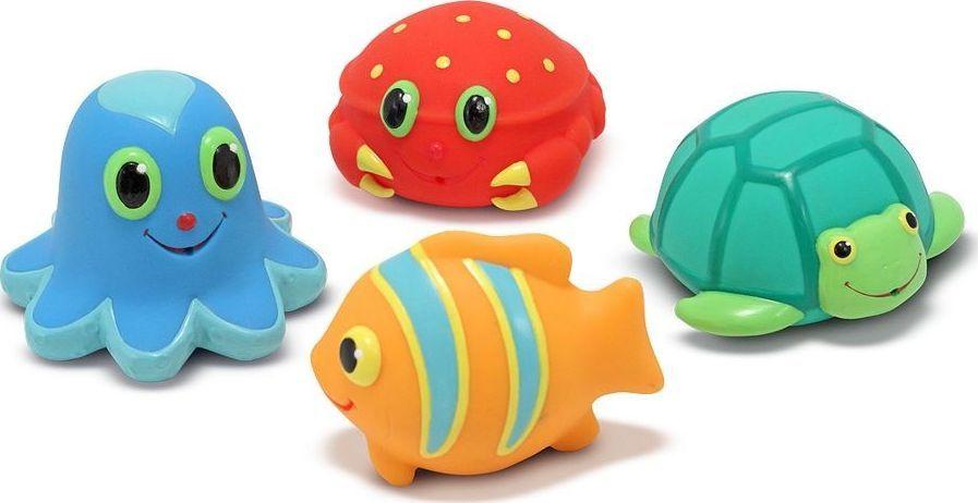 Melissa & Doug Gumowe zabawki do kąpieli - morskie stwory 1