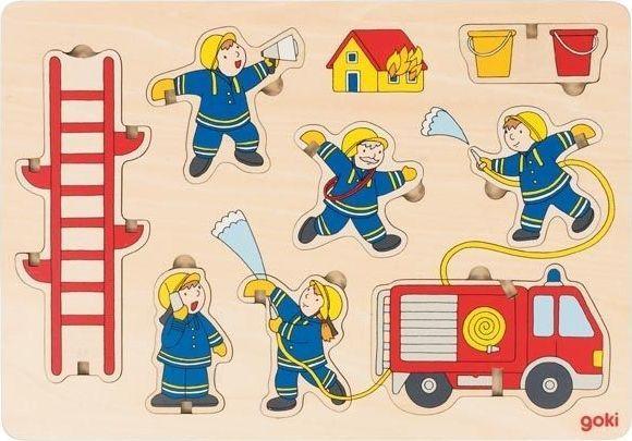 Goki Puzzle przestrzenne Strażacy 1