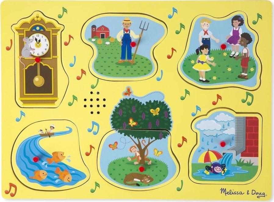 Melissa & Doug Puzzle dźwiękowe rymowanki 1