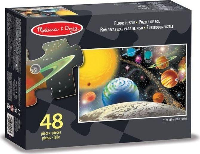Melissa & Doug Puzzle podłogowe Układ Słoneczny 48el. 1