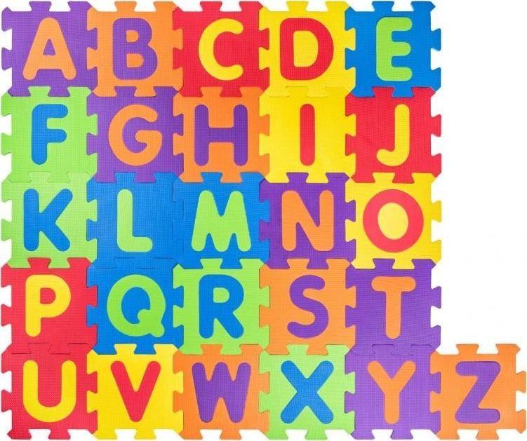 Plastica Puzzle podłogowe alfabet 1