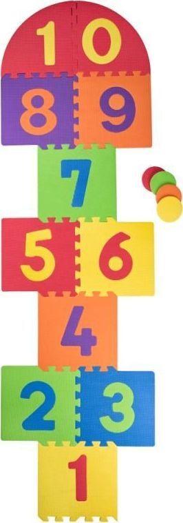 Plastica Duże piankowe puzzle do gry w klasy 1