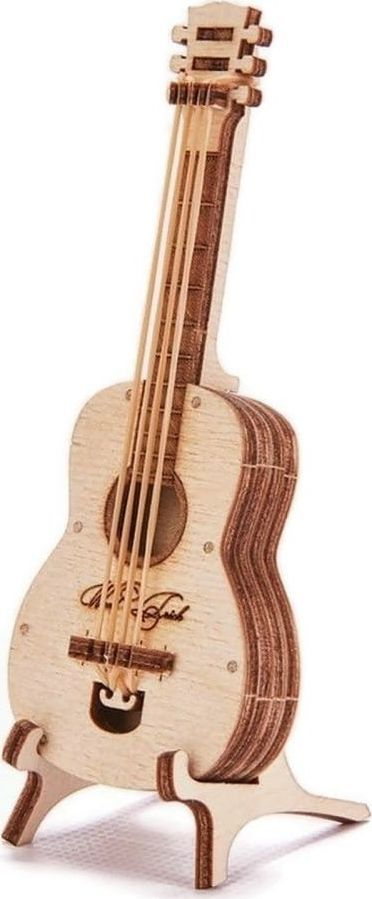 Wood Trick WoodTrick Puzzle mechaniczne gitara 1