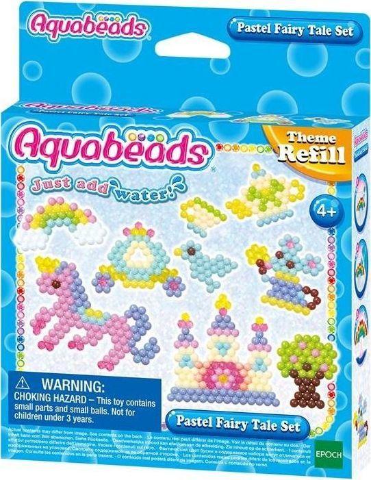 Epoch Aquabeads Zestaw pastelowej Bajkolandii 1