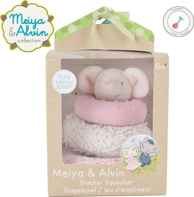 Meiya and Alvin Meiya Mouse Stacker with Squicker and Teethers 1