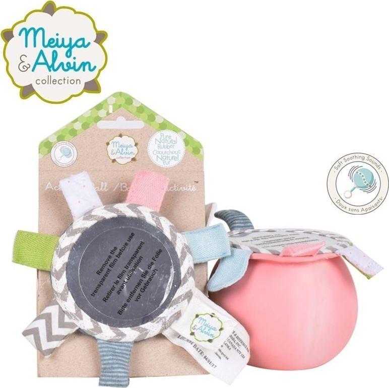 Meiya and Alvin Meiya & Alvin - Meiya Mouse Active Ball with Mirror and Rattle 1