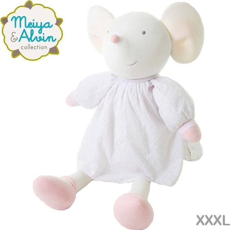 Meiya and Alvin Meiya & Alvin - Meiya Mouse Cuddly Doll XXXL 1