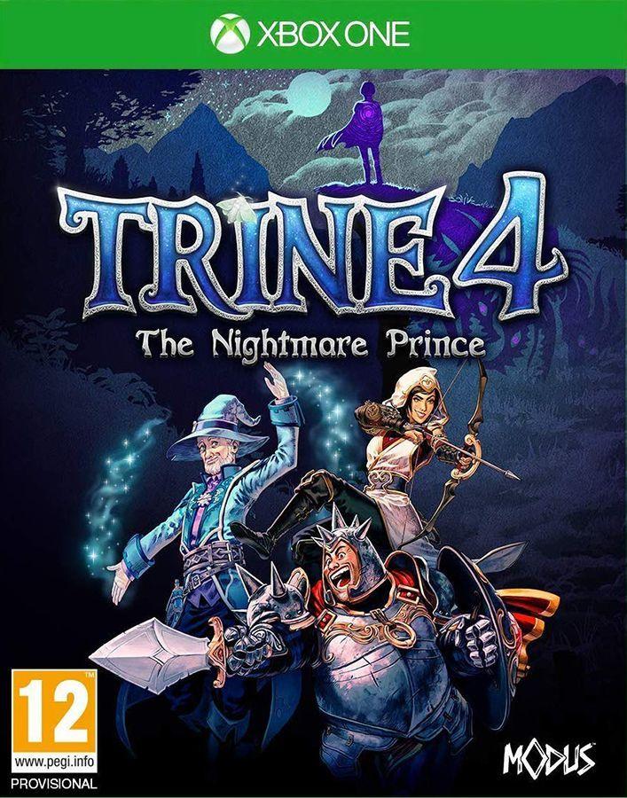 Trine 4 The Nightmare Prince PL (XONE) 1