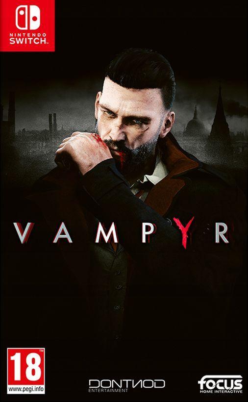 Gra Vampyr PL Nintendo Switch 1