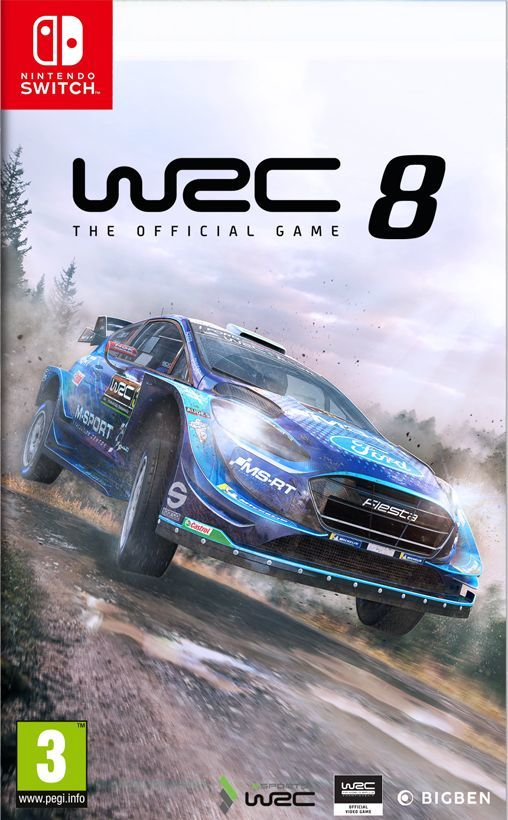 WRC 8 PL Nintendo Switch 1