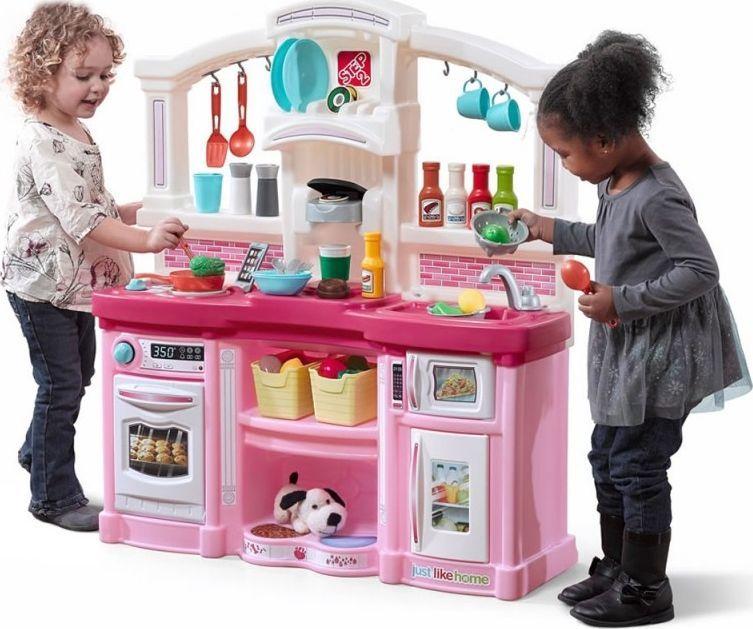 Step2 Step2 Elektroniczna Kuchnia Zabawa Z Przyjaciółmi - Różowa 1