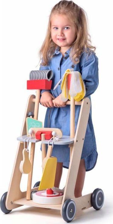 Woody Zestaw do sprzątania na wózku 1