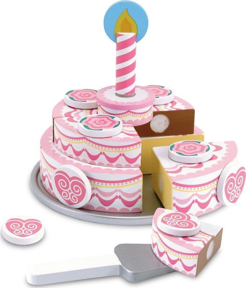 Melissa & Doug Tort warstwowy - zabawa w urodziny 1